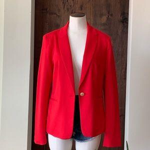 NWT Philosophy Red Blazer Size M